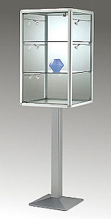 bt5289 Glasvitrine 350h
